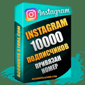 Женские аккаунты Instagram ручной регистрации — 10 000 живых подписчиков, привязан Номер (PREMIUM CLASS + Выдержка + АНТИБАН)