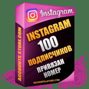 Женские аккаунты Instagram ручной регистрации — 100 живых подписчиков, привязан Номер (PREMIUM CLASS + Выдержка + АНТИБАН)