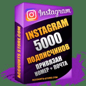 Женские аккаунты Instagram ручной регистрации — 5000 живых подписчиков, привязан Номер + Почта (PREMIUM CLASS + Выдержка + АНТИБАН)