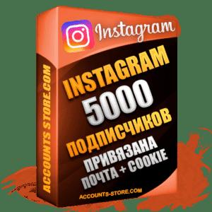 Женские аккаунты Instagram ручной регистрации — 5000 живых подписчиков, привязана Почта + Cookie (PREMIUM CLASS + Выдержка + АНТИБАН)